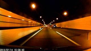 ドライブレコーダ dry fh220m 720p 高速道路トンネル