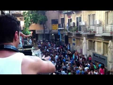 Dj Eran Barnea -jerusalem Street party june 2012