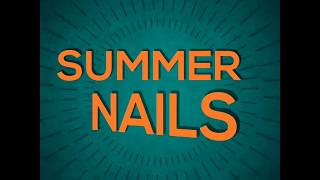 Summer nails  * Ballerina shape  2018