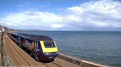 Live UK Beach Cam Brunel Railway Dawlish Devon - San Remo Cam