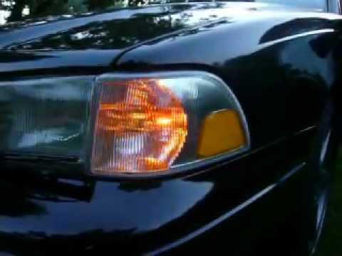 Volvo S70R USA blinker / drl lights - YouTube