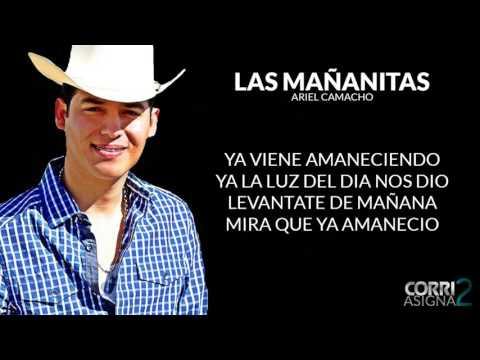 Las Mañanitas - Ariel Camacho (LETRA)