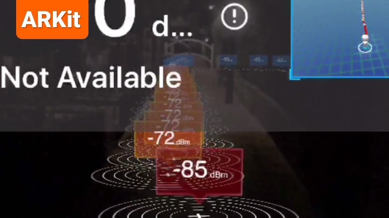 AR signal master - Records and displays Wi-Fi Signal in Augmented Reality