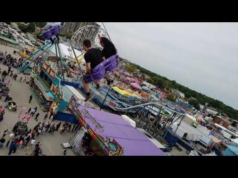 Western Fair 2018 POV Swings Ride 🙂🙂🙂
