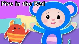 Five in the Bed and More | Johnny Johnny Rhymes | Baby Songs from Mother Goose Club!