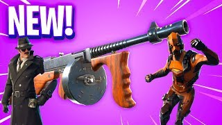 FUITE OF THE NEW ARME ON FORTNITE DRUM GUN AND NEW SKIN AND DANSES