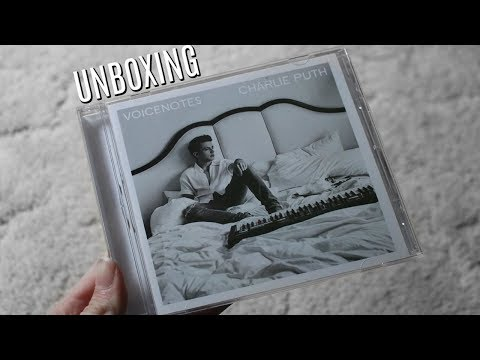 Voicenotes CD UNBOXING | Olivia Rena