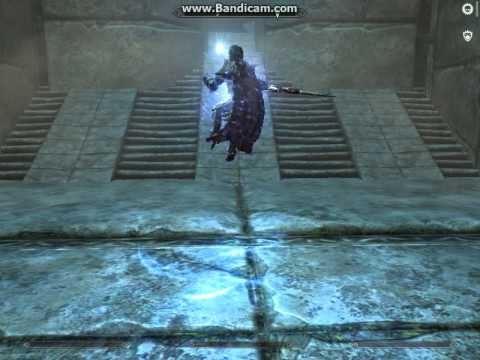 Skyrim Leaping Power attack