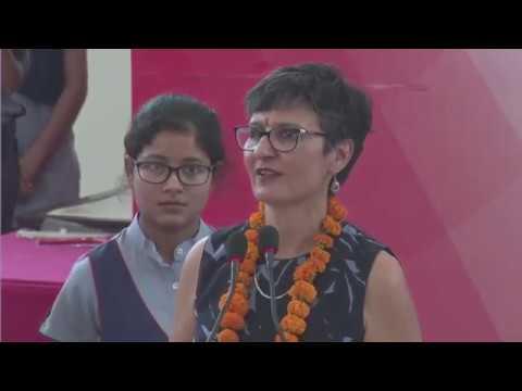 Australian HC to India H.E Harinder Sidhu at VidyaGyan, Sitapur