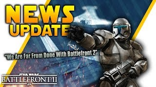 NEWS UPDATE: Commando Blaster Datamined, Future of Battlefront 2, Heroes Free & More