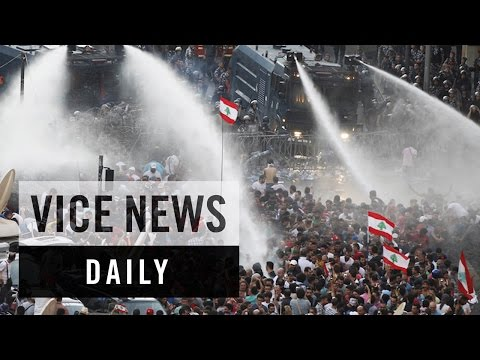 VICE News Daily: Lebanon's Garbage Protests Turn Violent