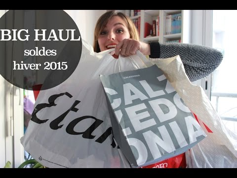 haul soldes hiver 2015 youtube