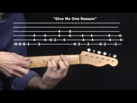 """Give Me One Reason"" by Tracy Chapman : 365 Riffs For Beginning Guitar !!"