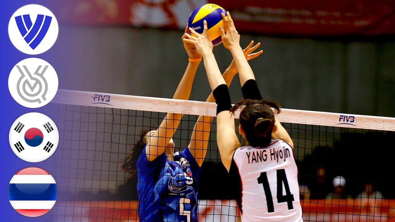 Korea vs. Thailand | Women's Volleyball World Olympic Qualifier 2016