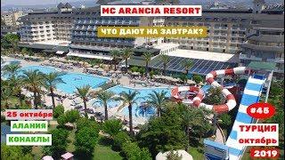Отдых в Турции Переезд в отель MC Arancia Resot Что дают на завтрак Часть 45
