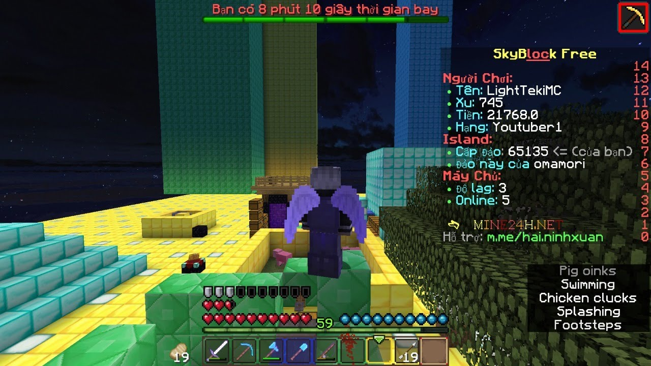 Stream Minecraft SkyBlock Free  Minecraft Server VietNam - YouTube