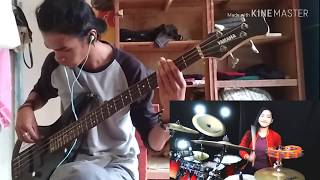 DJ Haning - Lagu Dayak BASS & DRUM COVER