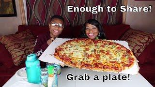 Klasiana's Party Pizza Mukbang