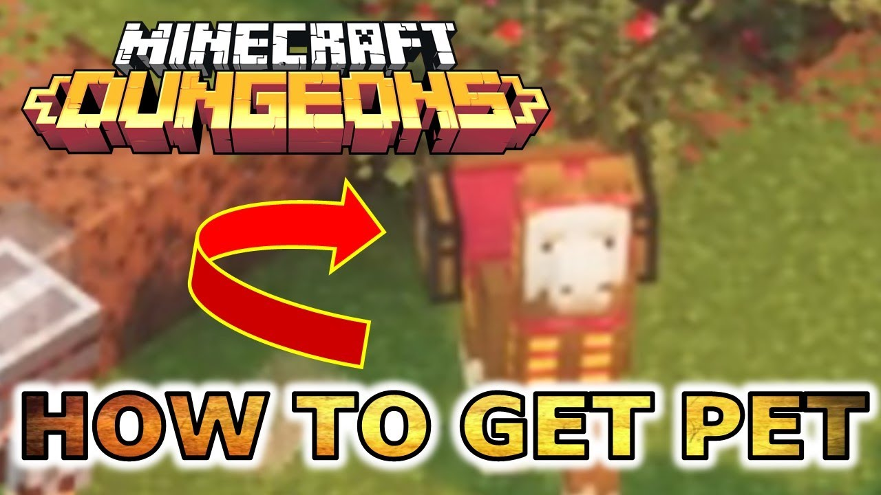 How To Get A Pet Companion Llama In Minecraft Dungeons Guide