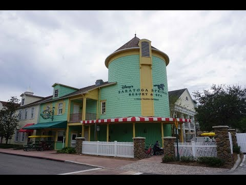 Disney's Saratoga Springs Resort and Spa Tour | Walt Disney World