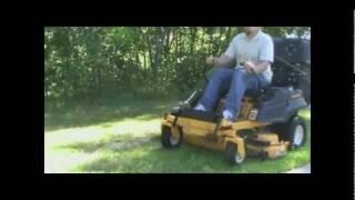cub cadet rzt with protero pv 212 lawn vacuum leaf vacuum grass catcher