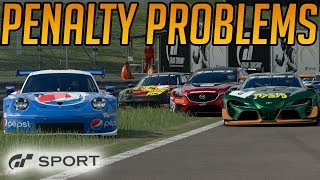 Gran Turismo Sport: Problematic Penalties at Blue Moon