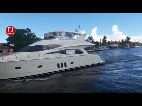 Taxi ride going to the Fort Lauderdale Boat Show 2017