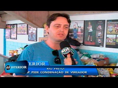Rio Preto: MP pede condenação de vereador por improbidade administrativa