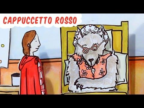 Cappuccetto rosso e il lupo cattivo  Favole & Fiabe per bambini CARTONI ANIMATI