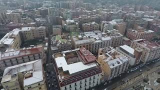 Nevicata 2018 Castellammare di Stabia - drone -