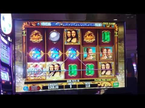 Double Da Vinci Diamonds $4.50 bet