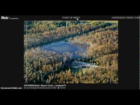 Louisiana Bayou Sinkhole Expanding Lake Michigan Distress U.S. Seismic Vibrations