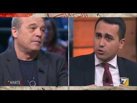 Massimo Franco e Claudio Amendola si confrontano con Luigi Di Maio (M5S)