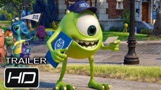 Monsters University - Trailer Final Oficial Español Latino - HD thumbnail