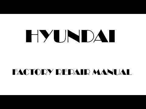 Hyundai Sonata 2006 2007 2008 2009 2010 factory repair