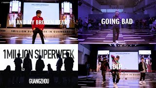 Koosung Jung Choreography (Me and My Broken Heart, Going Bad, Dip) / 1MILLION Superweek Guangzhou