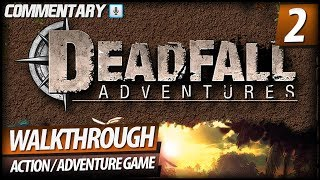 Deadfall Adventures Walkthrough HD - PART 2 Mirror Room Puzzle Solved (Commentary)