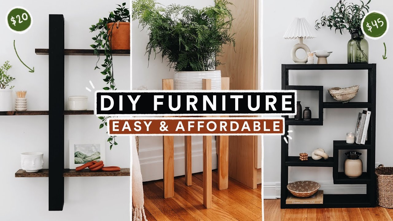 DIY Furniture & Home Decor Projects (From Start to Finish) 🔨 *Budget Friendly & Easy*