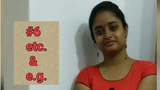 Etc E G Full Forms Their Meanings With Explanation In Hindi