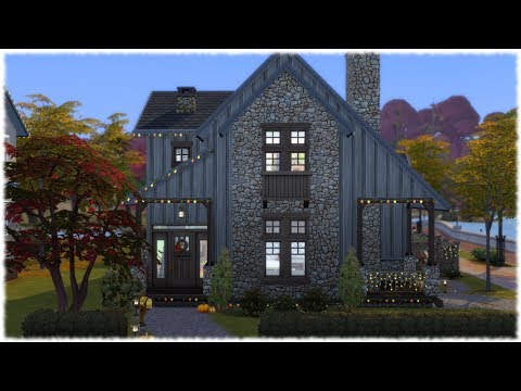 The Sims 4: Speed Build // BASE GAME + SEASONS // AUTUMN HOUSE |