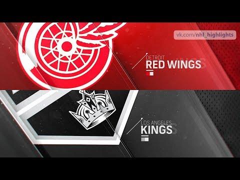 Detroit Red Wings vs Los Angeles Kings Oct 7, 2018 HIGHLIGHTS HD