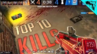 BOOM..? - Rainbow Six Siege Top 10 Plays (WBCW #251)