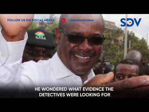 Former Nairobi Governor Evans Kidero arrested by the EACC officers over irregular payment of Ksh 68M