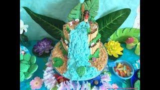 Gâteau Vaiana   Moana Cake  Tutoriel Facile Anniversaire!