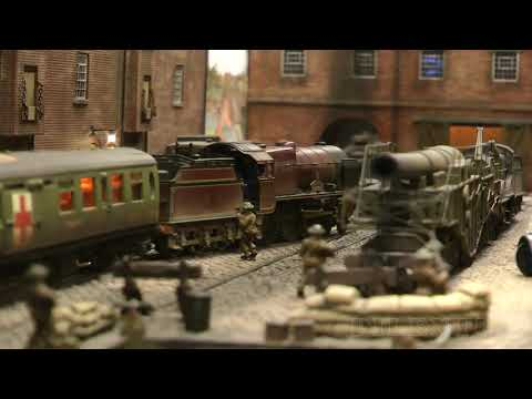 Military Model Trains, Boats And Tanks: Second World War Diorama Operation Abyss