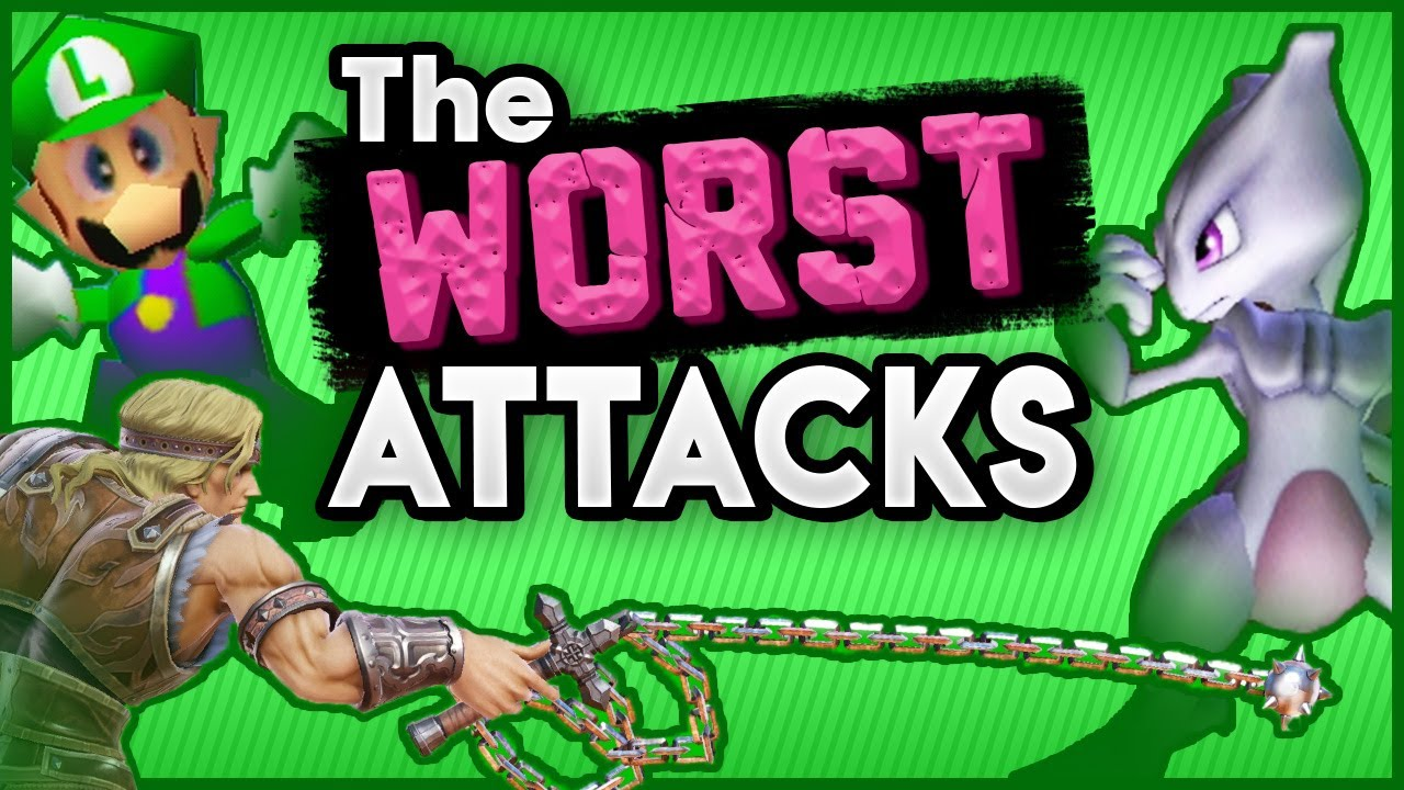 The Worst Attacks in Smash Bros. History thumbnail