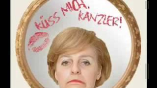 Küss mich Kanzler Angela Merkel . Lady Kanzla  singt  POKER FACE.avi