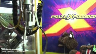 Prize Xplosion Crane - Claw Crane Prize Arcade Machine - Bmigaming.com - Coast To Coast