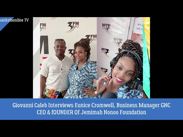 Giovanni Caleb Interviews Eunice Cromwell