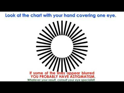 7e94c0d2d9b Eye Test for Astigmatism - YouTube